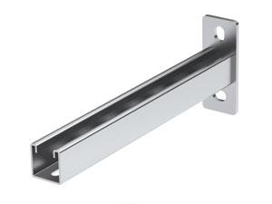 Консоль BBP-41 (одиночная 41х41) на лоток с осн.200, нержавеющая сталь