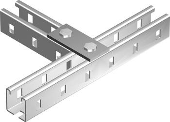 Пластина соединительная BMD-10 с 2 отверстиями, длина 90 мм2