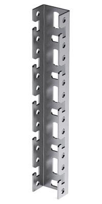 Профиль BPF, для консолей быстрой фиксации BBF, L1000, толщ.2,5 мм, нержавеющая сталь