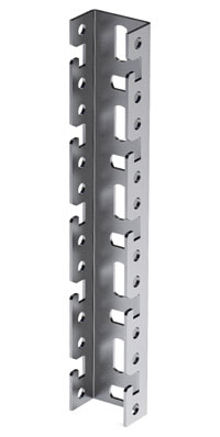 Профиль BPF, для консолей быстрой фиксации BBF, L400, толщ.2,5 мм, нержавеющая сталь