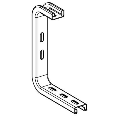 Профиль BPL-21 (DBL) L300 , толщ.1,5 мм, нержавеющая сталь