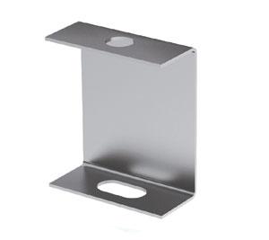 Скоба BML-10 (PL облегченная), горячеоцинкованная сталь