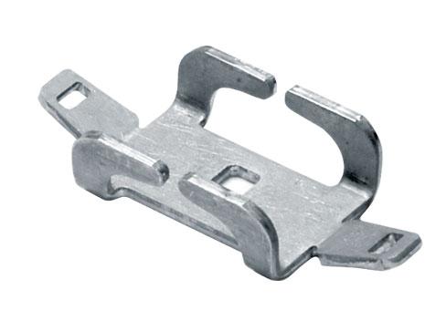 Безвинтовой зажим для проволочного лотка, нержавеющая сталь